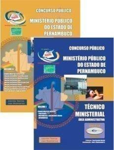 Apostila Técnico Ministerial - área Administrativa - Concurso Ministério Púb...
