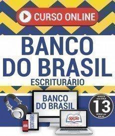 Curso On-Line ESCRITURÁRIO - Apostila Preparatória Banco do Brasil