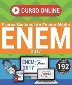 Curso On-Line EXAME NACIONAL DE ENSINO MÉDIO - ENEM (4 Volumes) - Apostila Preparatória ENEM