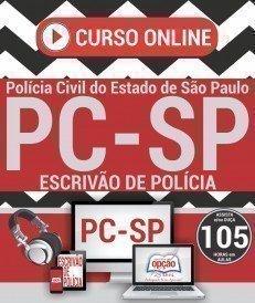 Curso On-Line ESCRIVÃO DE POLÍCIA - Apostila Preparatória PC SP