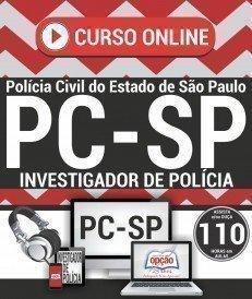 Curso On-Line INVESTIGADOR DE POLÍCIA - Apostila Preparatória PC SP