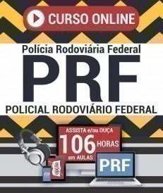 Curso On-Line POLICIAL RODOVIÁRIO FEDERAL - Apostila Preparatória PRF
