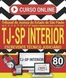 Curso On-Line ESCREVENTE TÉCNICO JUDICIÁRIO - Apostila Preparatória TJ SP