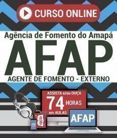 Curso On-Line AGENTE DE FOMENTO - EXTERNO - Concurso AFAP 2019