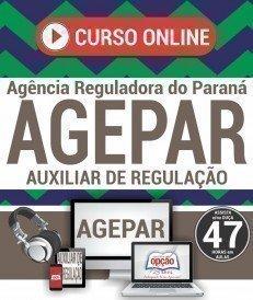 Curso On-Line AUXILIAR DE REGULAÇÃO - Concurso AGEPAR 2018