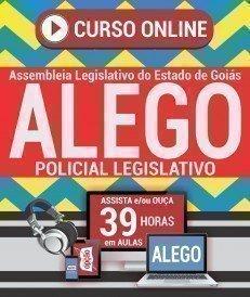 Curso On-Line POLICIAL LEGISLATIVO - Concurso ALEGO 2019