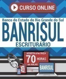 Curso On-Line ESCRITURÁRIO (Vídeoaula) - Concurso BANRISUL 2019