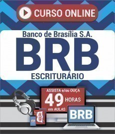 Curso On-Line ESCRITURÁRIO - Concurso BRB 2019