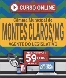 Curso On-Line AGENTE DO LEGISLATIVO - Concurso Câmara de Montes Claros 2020