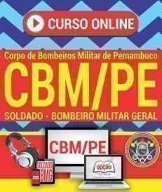 Curso On-Line CURSO DE FORMAÇÃO E HABILITAÇÃO DE PRAÇAS - Concurso CBM PE 2017
