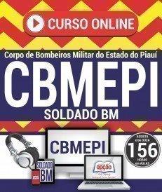 Curso On-Line SOLDADO BM - Concurso CBMEPI 2017
