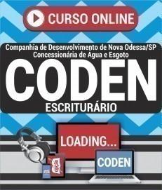 Curso On-Line ESCRITURÁRIO - Concurso CODEN 2020