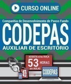 Curso On-Line AUXILIAR DE ESCRITÓRIO - Concurso CODEPAS 2019