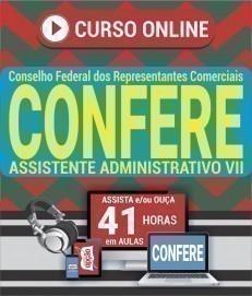 Curso On-Line ASSISTENTE ADMINISTRATIVO VII - Concurso CONFERE 2019