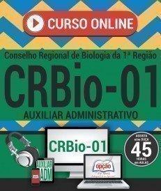 Curso On-Line AUXILIAR ADMINISTRATIVO - Concurso CRBio 1ª Região 2017