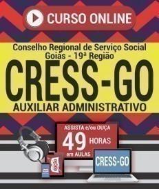 Curso On-Line AUXILIAR ADMINISTRATIVO - Concurso CRESS GO 2019