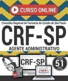 Curso On-Line AGENTE ADMINISTRATIVO - Concurso CRF SP 2018