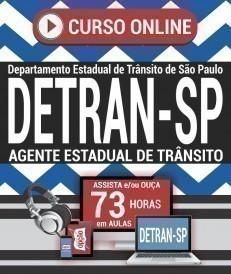 Curso On-Line AGENTE ESTADUAL DE TRÂNSITO - Concurso DETRAN SP 2019