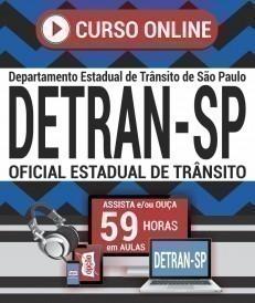 Curso On-Line OFICIAL ESTADUAL DE TRÂNSITO - Concurso DETRAN SP 2019