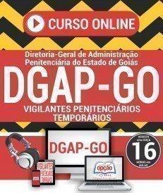 Curso On-Line VIGILANTES PENITENCIÁRIOS TEMPORÁRIOS - Concurso DGAP GO 2018