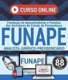 Curso On-Line ANALISTA JURÍDICO-PREVIDÊNCIÁRIO - Concurso FUNAPE 2017