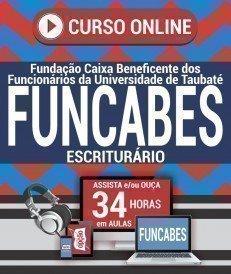 Curso On-Line ESCRITURÁRIO - Concurso FUNCABES 2018