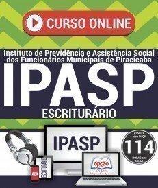 Curso On-Line ESCRITURÁRIO - Concurso IPASP 2017