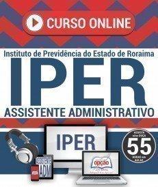 Curso On-Line ASSISTENTE ADMINISTRATIVO - Concurso IPER 2018