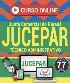 Curso On-Line TÉCNICO ADMINISTRATIVO - Concurso JUCEPAR 2017