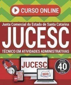 Curso On-Line TÉCNICO EM ATIVIDADES ADMINISTRATIVAS - Concurso JUCESC 2017