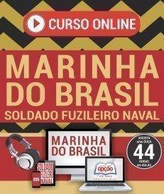 Curso On-Line SOLDADO FUZILEIRO NAVAL - Concurso Marinha do Brasil 2017