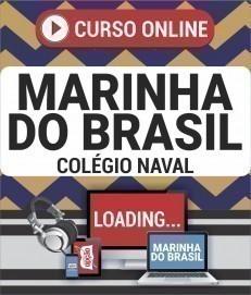 Curso On-Line COLÉGIO NAVAL - Concurso Marinha do Brasil 2019