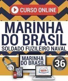 Curso On-Line SOLDADO FUZILEIRO NAVAL - Concurso Marinha do Brasil 2019