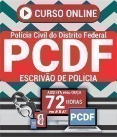 Curso On-Line ESCRIVÃO DE POLÍCIA - Concurso PC DF 2020