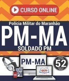 Curso On-Line SOLDADO PM - Concurso PM MA 2017