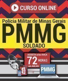 Curso On-Line SOLDADO - Concurso PM MG 2018