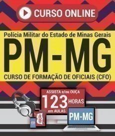 Curso On-Line CURSO DE FORMAÇÃO DE OFICIAIS - Concurso PM MG 2019