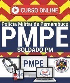 Curso On-Line SOLDADO DA PM - Concurso PM PE 2018