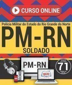 Curso On-Line SOLDADO - Concurso PM RN 2018