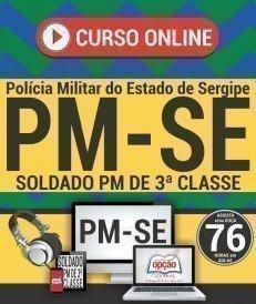Curso On-Line SOLDADO PM - Concurso PM SE 2018