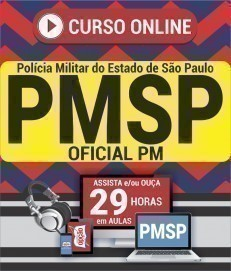 Curso On-Line OFICIAL PM - Concurso PM SP 2019