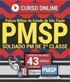 Curso On-Line SOLDADO PM DE 2ª CLASSE - Concurso PM SP 2019