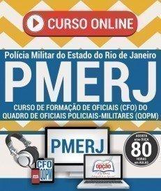 Curso On-Line CURSO DE FORMAÇÃO DE OFICIAIS (CFO) - Concurso PMERJ 2017