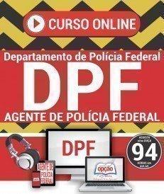 Curso On-Line AGENTE DE POLÍCIA FEDERAL - Concurso Polícia Federal 2018