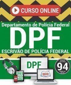 Curso On-Line ESCRIVÃO DE POLÍCIA FEDERAL - Concurso Polícia Federal 2018
