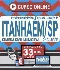 Curso On-Line GUARDA MUNICIPAL - 2ª CLASSE - Concurso Prefeitura de Itanhaém 2019