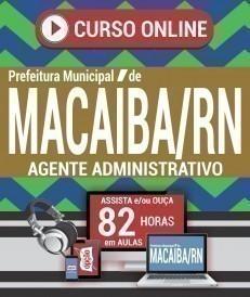 Curso On-Line AGENTE ADMINISTRATIVO - Concurso Prefeitura de Macaíba 2019