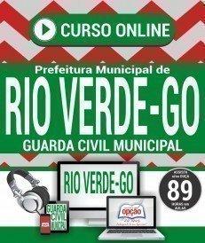 Curso On-Line GUARDA CIVIL MUNICIPAL - Concurso Prefeitura de Rio Verde 2018