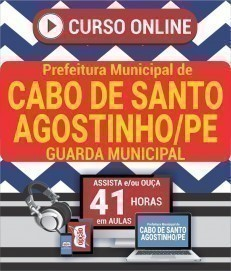 Curso On-Line GUARDA MUNICIPAL - Concurso Prefeitura do Cabo de Santo Agostinho 2019
