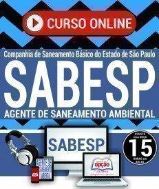 Curso On-Line AGENTE DE SANEAMENTO AMBIENTAL - Concurso SABESP 2018